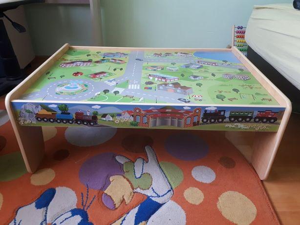 Masa de joaca pentru copii / masa trenulet / masinute de lemn