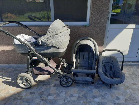 Детска количка Adbor Marsel 3в1