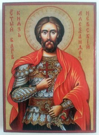 Икона на Свети Александър Невски icona sveti aleksandar nevski
