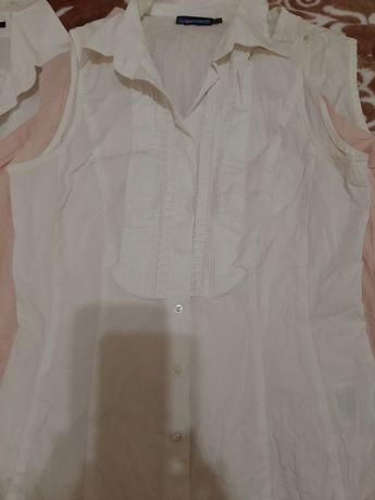 Блузки рубашки летние хб