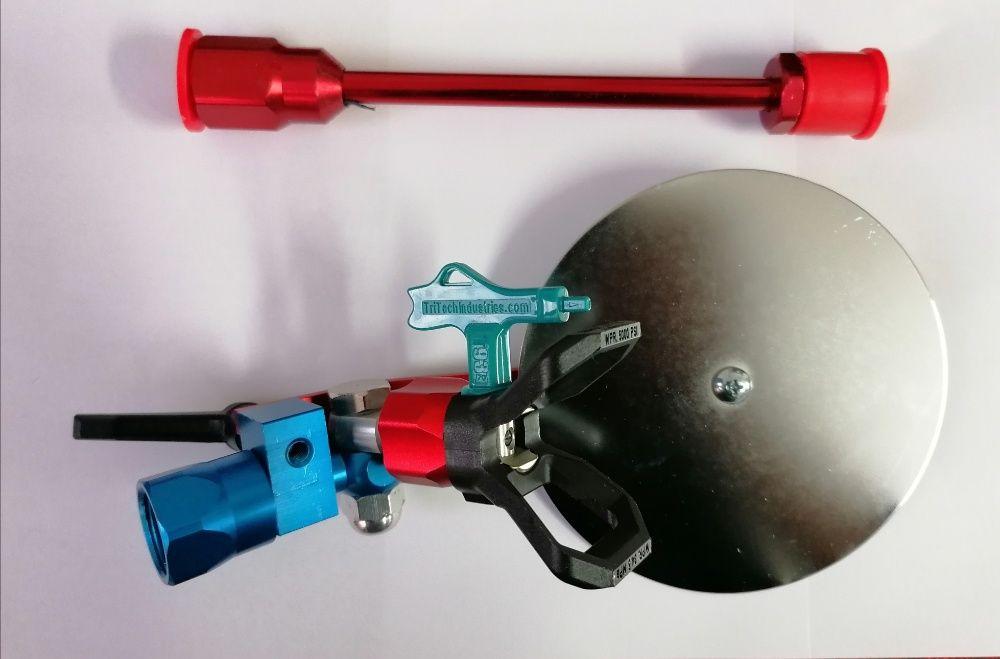 Articulatie ghidaj pistol airless si extensie