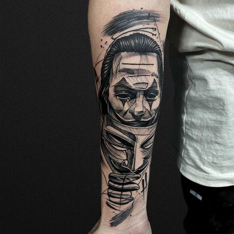 Тату в Алмате, Almaty tattoo.