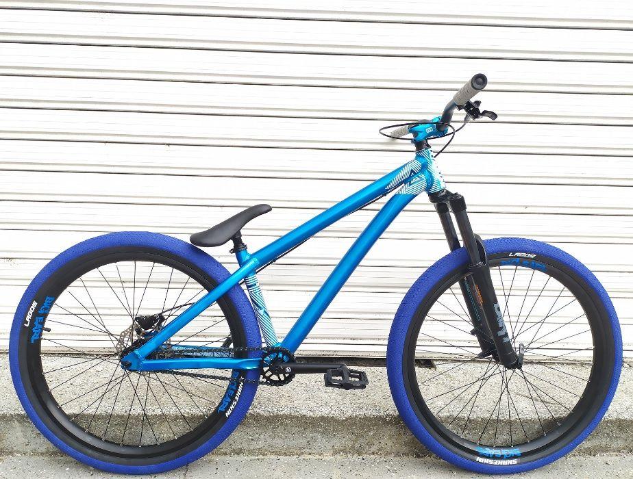 НОВИ цяло колело Octane One ZIRCUS Dirt Jump POWER 26 велосипед