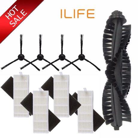 Резервни четки и филтри за прахосмукачка-робот iLife A4, A4s