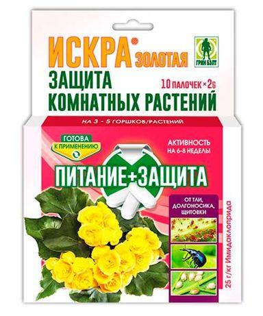 Удобрение для комнатных цветов+защита от вредителей