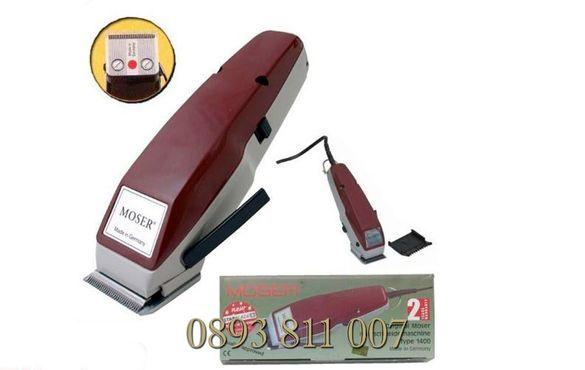 + приставки Немска Фризьорска Машинка за Подстригване-МОЗЕР Mozer 1400