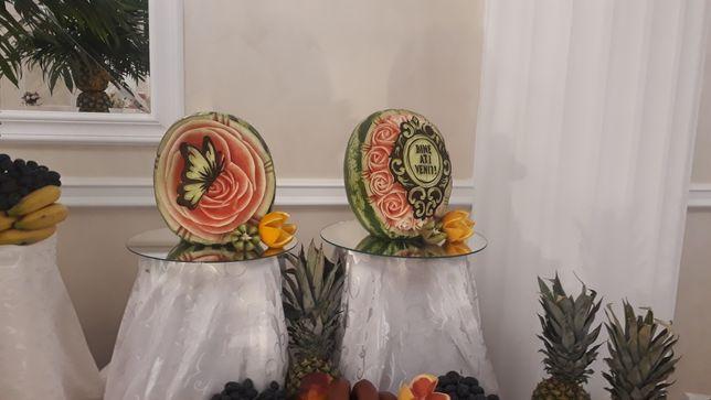 Sculpturi in lebenita sau diverse fructe si legume