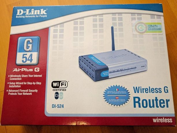 Router wireless D-Link DI-524 AirPlus G