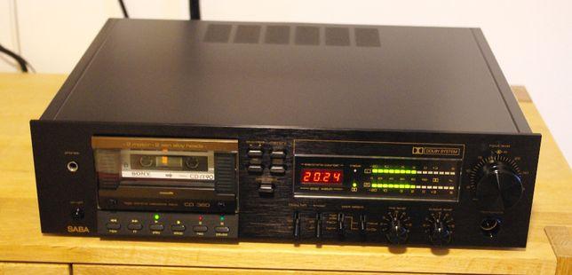 Saba CD360 casetofon deck TOP!