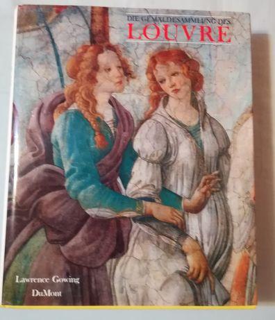 Catalog de artă cu operele de la Muzeul Luvru