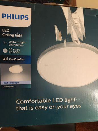 Плафониера LED Philips myLiving Twirly, 17W (102W)