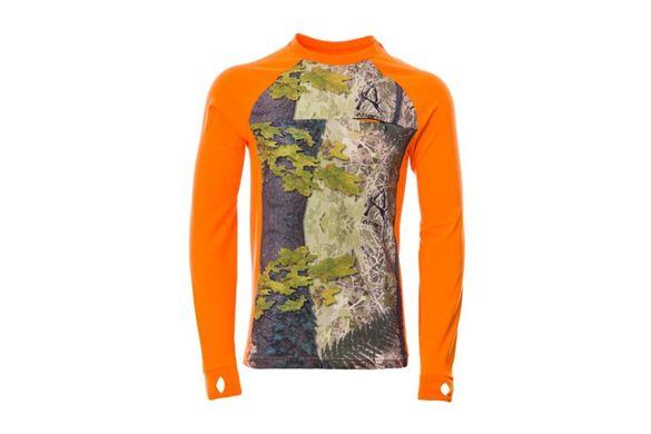 Ловна блуза Кристиан - Ares Camo + Сигнално Оранжево или Горско Зелено