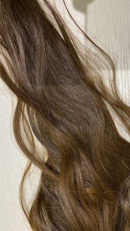 Заколки из настоящих волос