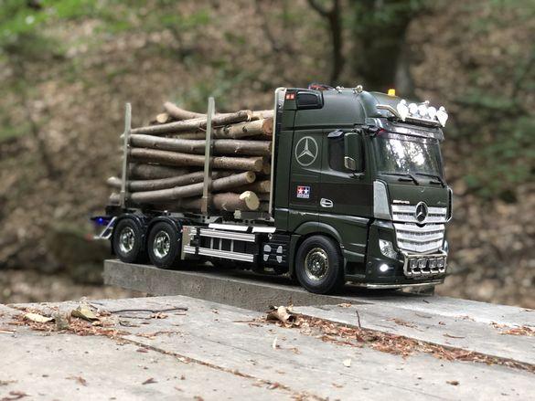 Rc камион 1/14 Tamiya Mercedes Actros