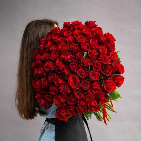 Метровые Розы   Букеты   Роза   Доставка цветов!   Астана  