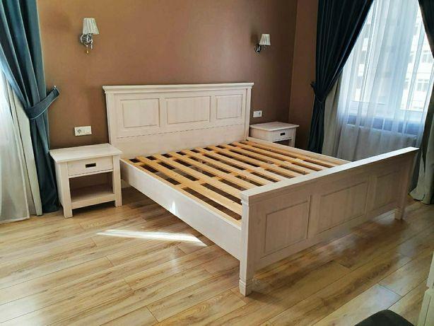 Кровать двуспальная, из массива.(Россия)