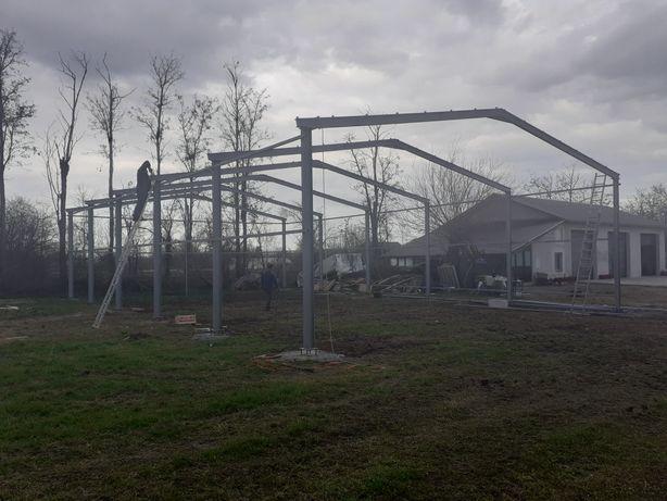 Vând hale metalice containere tip casă locuibile izolate cu panouri