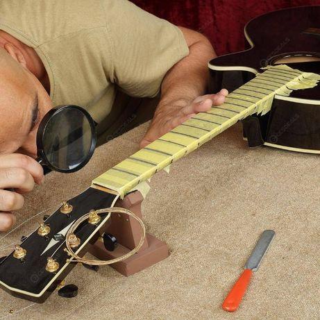 ремонт и поддръжка на китари