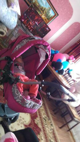Детская коляска-трансформер Happych Gisele, производство Польша.