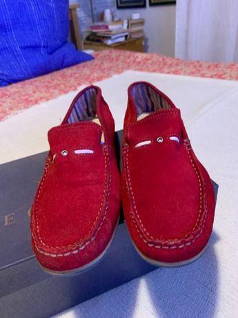 Vind pantofi vara piele intoarsa,marimea 42