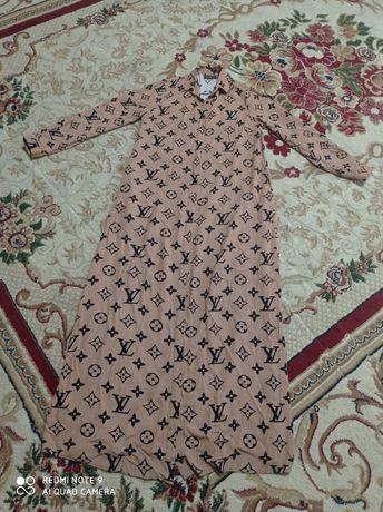Длинное платье. Хиджаб