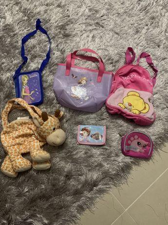 Posete si portofele pentru fetite 2-7 ani