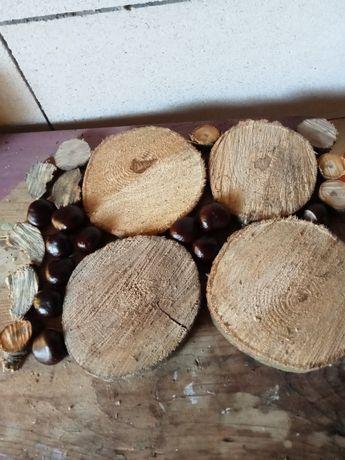 Rondele lemn diferite mărimi