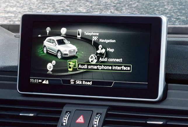 Activare AUDI CarPlay Android Auto SmartPhone Interface Audi A3 A4 A6