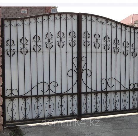 Покраска ворот компрессорам