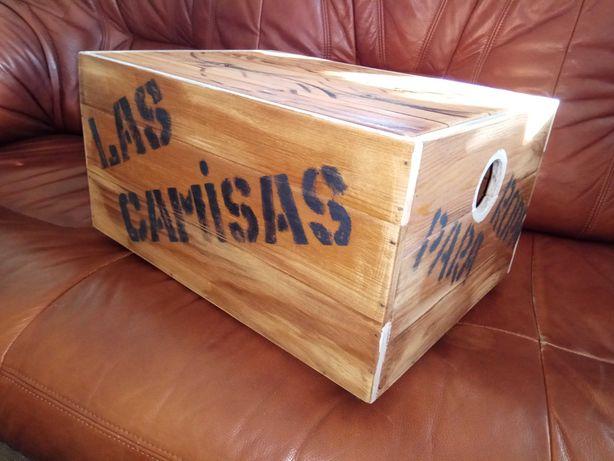 Прикроватная тумбочка  Лофт ящик тумба из дерево ручная работа