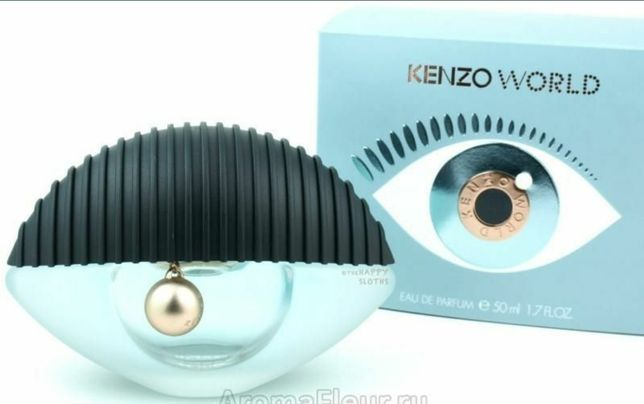 Новый парфюм  Kenzo World