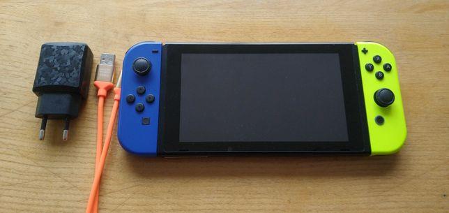 Vand consola nintendo switch modata, card 128gb , Mario, Pokemon