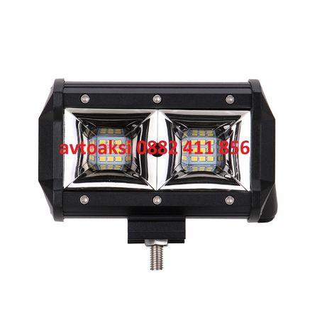 """Мощен LED BAR мини 5"""" инча 54W /12V 24V"""