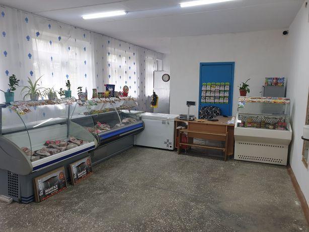 Действующий магазин в п. Аманкарагай
