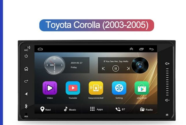 Navigație Toyota Rav4, Corolla, Hillux, 4Runner, Land Cruiser, Yaris