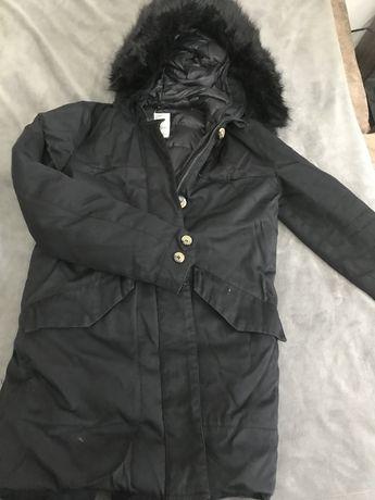 Парка/ куртка от zara зимняя