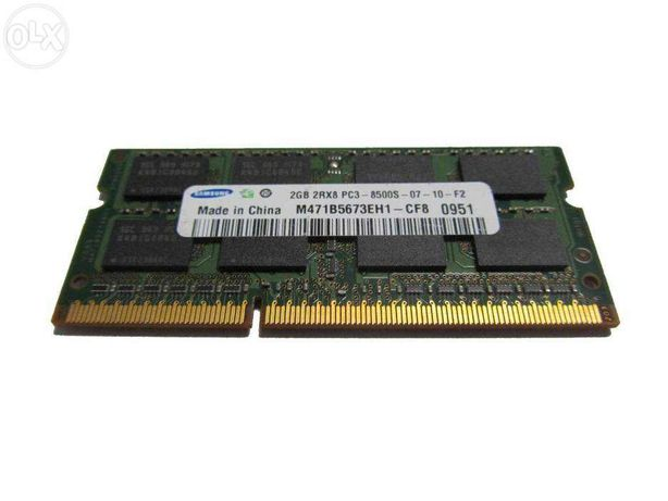 Memorie RAM 2Gb DDR3 Laptop 1066MHZ PC3-8500S Notebook SODIMM