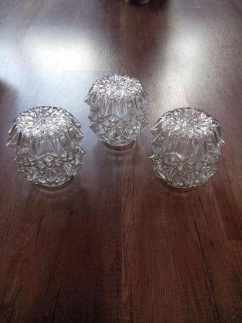 за осветителни тела -3бр. глобуси плафони лампиони стъкла
