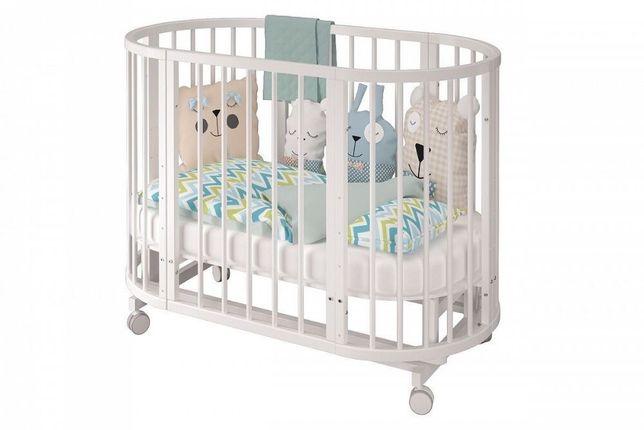 Манеж +Кровать трансформер круглая + овальная манеж детский + доставка