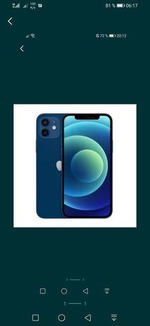 Айфон 12, IPhone 12, 128 Gb, blue 100% состояние аккумулятор.