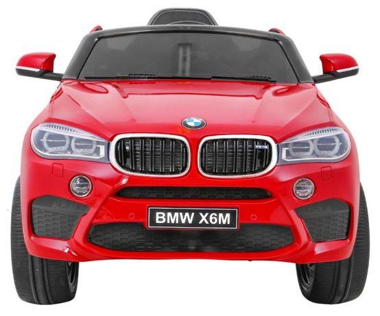 Masinuta electrica pentru copii BMW X6M (2199) Visiniu metalizat