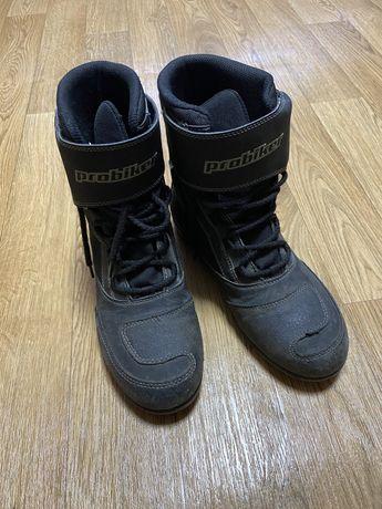 Продам мото ботинки
