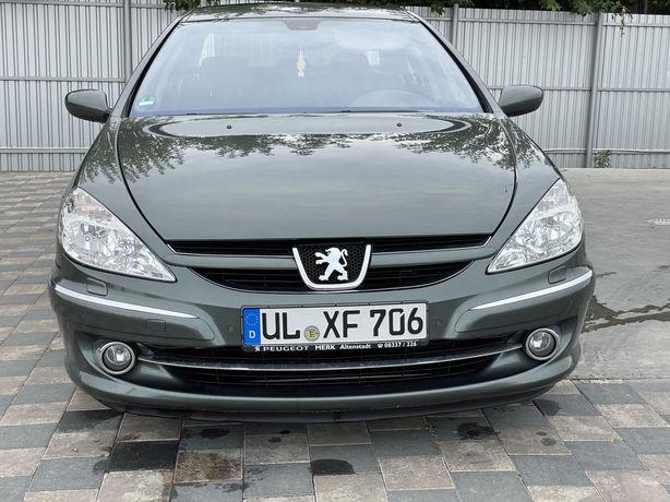 Peugeot 607 full