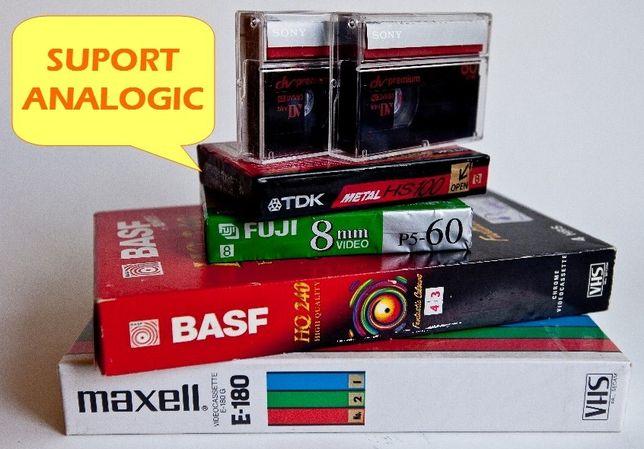 Transfer Video pe DVD sau Suport Digital