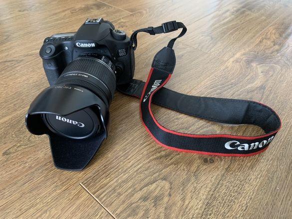 Canon 60D + Обектив Canon EF-S 18-200mm + Чанта + Байонет + Филтър