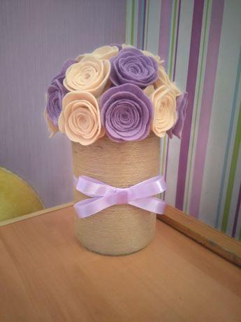 Изработка на сватбени украси