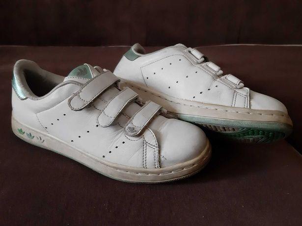 Продам кожаные кроссовки adidas, размер 37,5 за 2500тг!