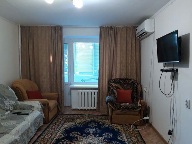 Сдам 2-х комнатную квартиру посуточно рядом ЖД Вокзал. КОНДИЦИОНЕР.
