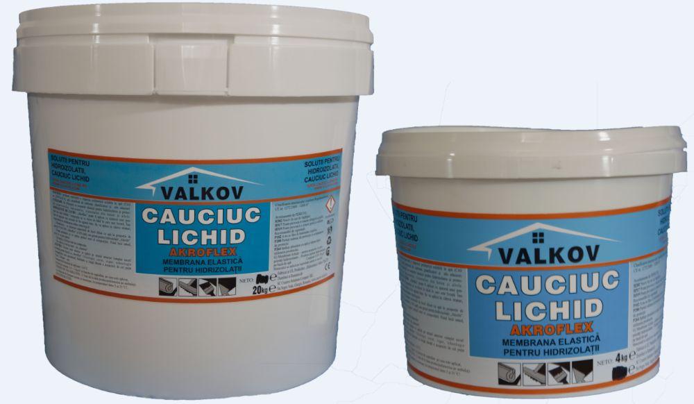 Akroflex cauciuc lichid pentru hidroizolatii 20 Kg Giurgiu - imagine 1