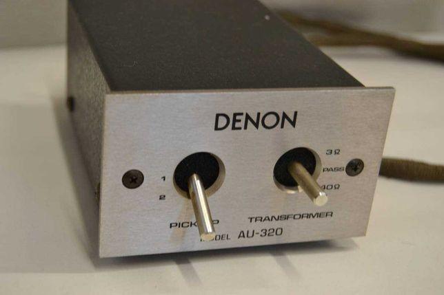 Denon AU-320 повышающий мс трансформатор